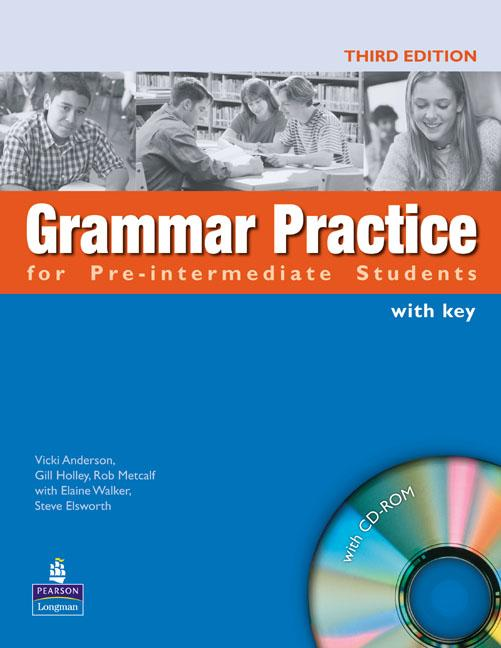 Grammar Practice Third Edition Pre-intermediate Book and CD-ROM (with Key)