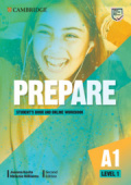 Prepare 2nd Edition 1 Student's Book with Online Workbook