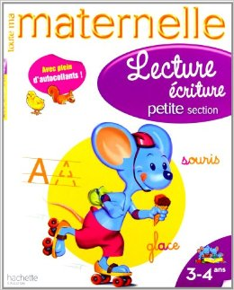 Toute ma maternelle - Cahier Lecture - Ecriture petite section (3-4 ans)