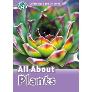 Oxford Read and Discover Level 4 All About Plants Audio CD Pack