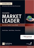 Market Leader 3rd Edition Extra Intermediate Coursebook and DVD-ROM Pack with MyEnglishLab