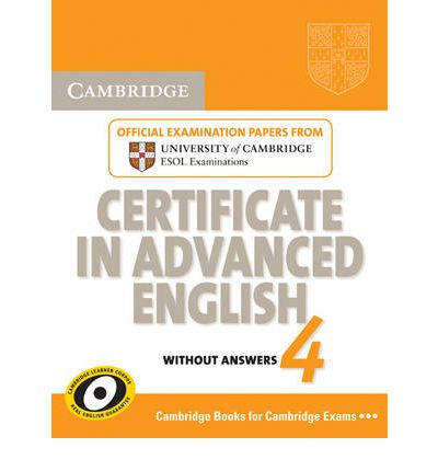 Cambridge Certificate in Advanced English 4 for updated exam Student's Book without answers