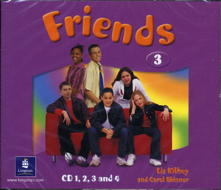 Friends 3 Class Audio CD (4) (Лицензия)