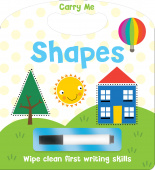 Wipe Clean Carry Handle: Shapes
