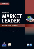 Market Leader 3rd Edition Intermediate Coursebook and DVD-ROM Pack with MyEnglishLab