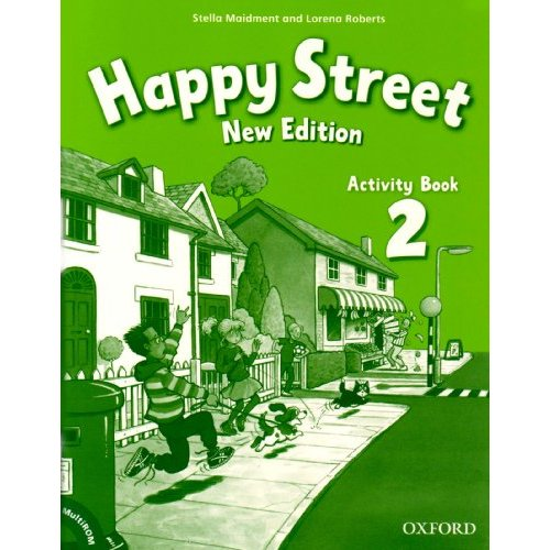 Happy Street 2 New Edition Activity Book and MultiROM Pack