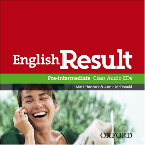 English Result Pre-Intermediate Class CD's