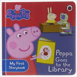 Ladybird: Peppa Goes To The Library