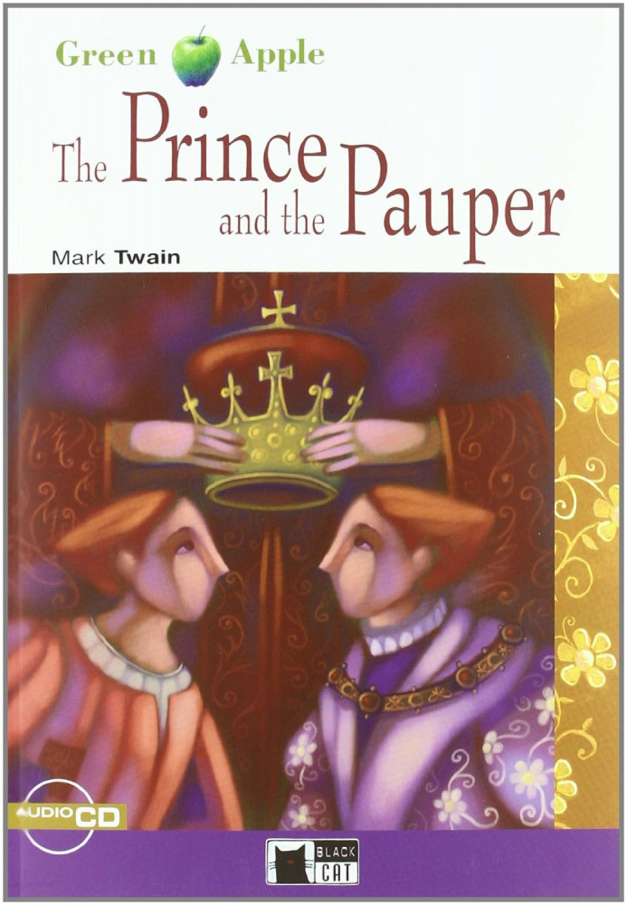 Green Apple Step1: The Prince and the Pauper with Audio CD
