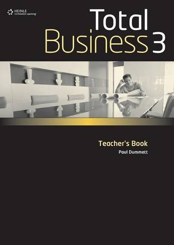 Total Business 3 Teacher's Book