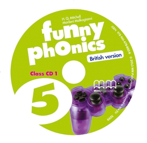 Funny Phonics 5 Class CD/CD-ROMs (British version)