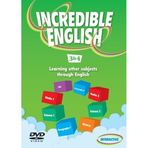 Incredible English 3 & 4 DVD