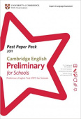 Past Paper Pack for Cambridge English: Preliminary for Schools 2011 Exam Papers and Teachers' Booklet with Audio CD