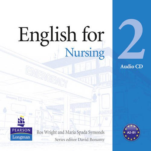 Vocational English Level 2 (Pre-intermediate) English for Nursing Audio CD
