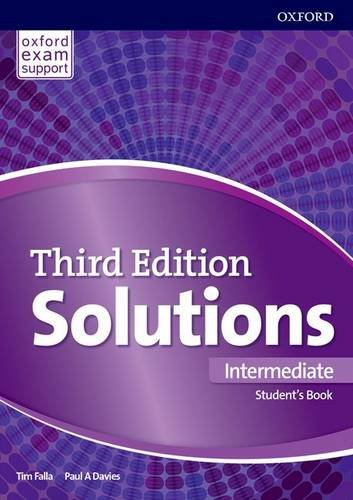 Solutions Third Edition Intermediate Student's Book