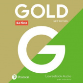 Gold New Edition B2 2018 First Class Audio CDs