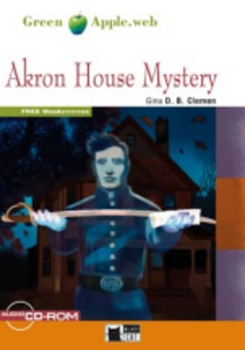 Green Apple Starter:  Akron House Mystery with Audio / CD-ROM