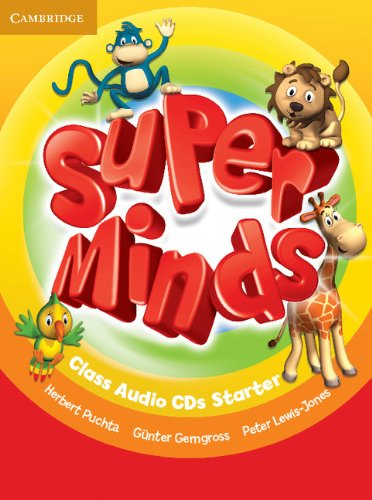 Super Minds Starter Class Audio CDs (2) (Лицензия)