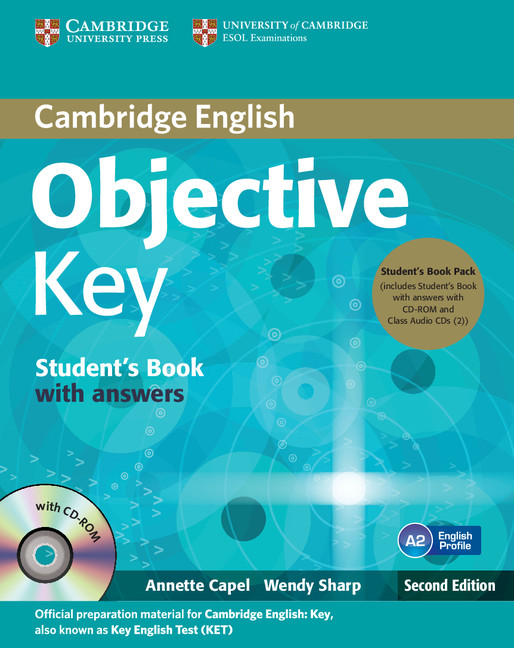 Objective Key (Second Edition) Student's Book Pack (Student's Book with Answers with CD-ROM and Class Audio CDs(2))
