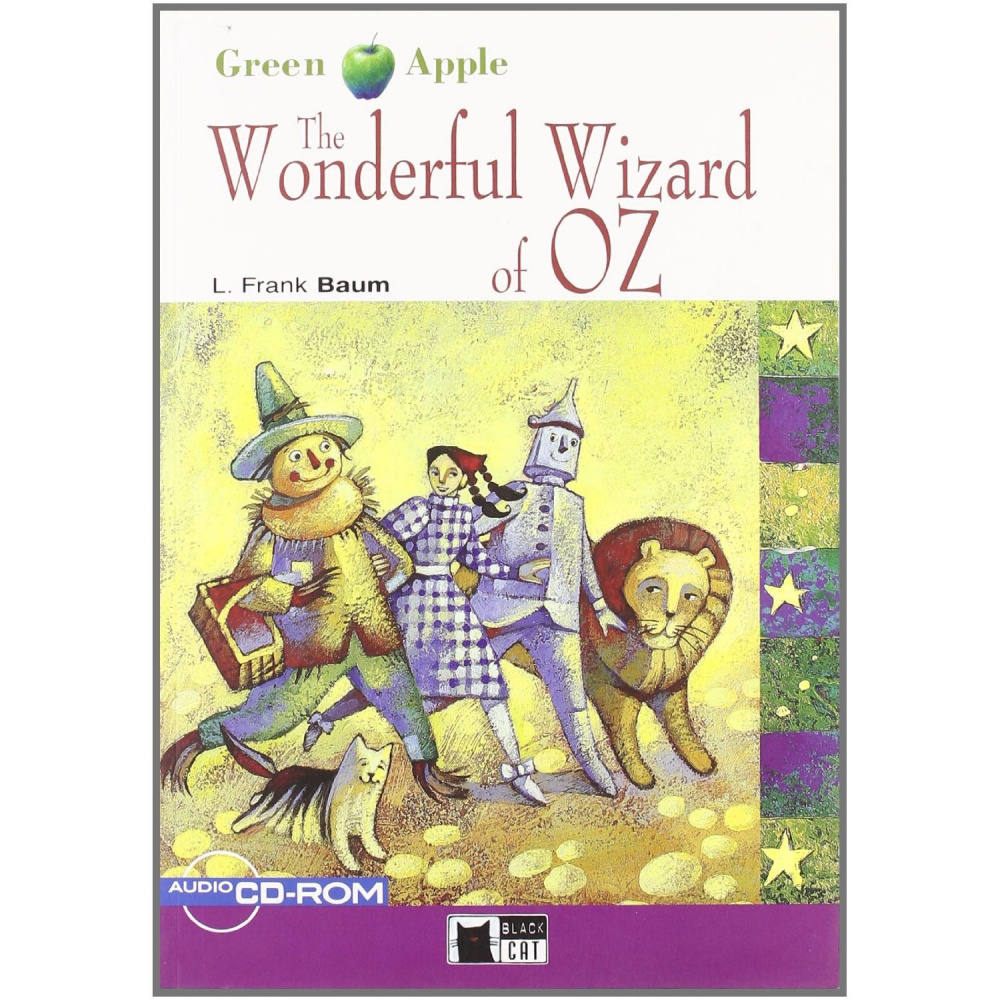 Green Apple Starter:  The Wonderful Wizard of Oz with Audio / CD-ROM