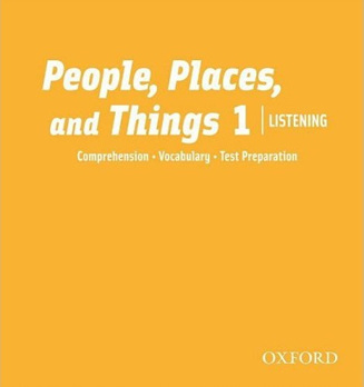 People, Places, and Things Listening 1 Class Audio CDs (2)