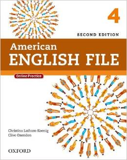 American English File Second edition Level 4 Student Book with Online Skills