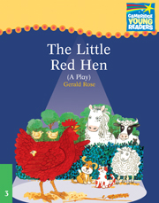 Cambridge Storybooks Level 3 The Little Red Hen (Play)