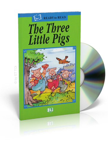 ELi Readers Green Series: (A1) Three Little Pigs with CD