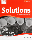 Solutions Second Edition Pre-Intermediate Workbook with Student's Site