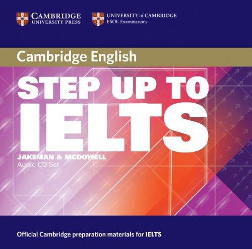 Step Up to IELTS Audio CDs