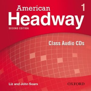 American Headway Second Edition 1 Class Audio CDs (3)