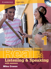 Cambridge English Skills: Real Listening & Speaking Level 1 Book with answers and Audio CDs