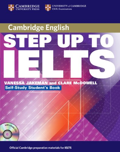 Step Up to IELTS Self-study Pack (Self-study Student's Book and Audio CDs (2))