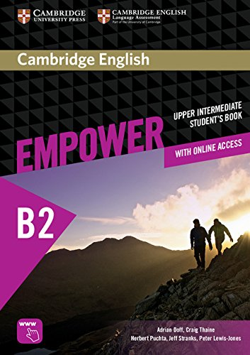 Cambridge English Empower Upper-Intermediate Student's Book with Online Assessment and Practice, and