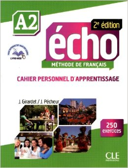 Echo A2 - 2e edition - Cahier personnel d'apprentissage + CD audio + livre-web