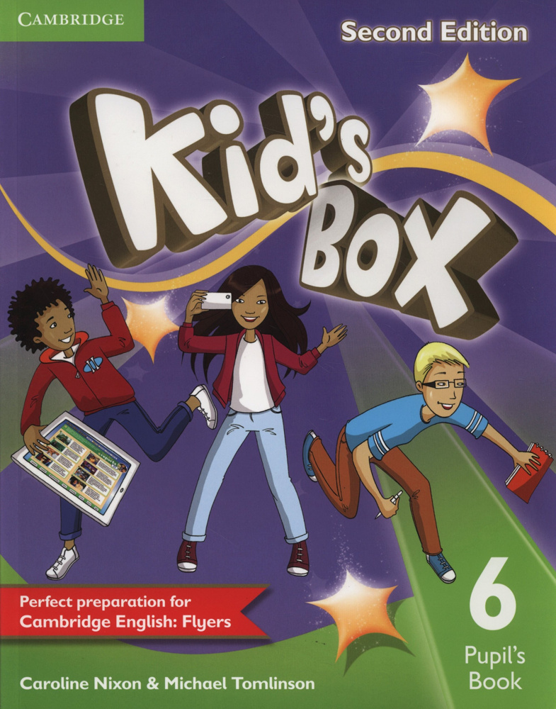 Kid's Box Second Edition 6 Pupil's Book
