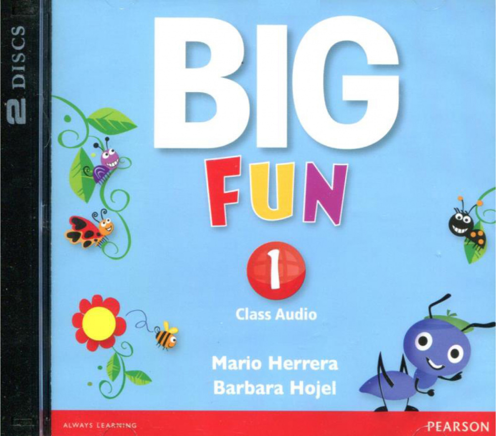 Big Fun 1 Class Audio CD
