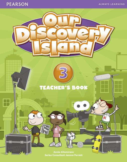 Our Discovery Island Level 3 Teacher's Book Plus Pin Code