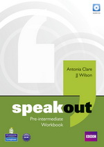 Speakout Pre-Intermediate Workbook without key with Audio CD