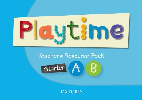 Playtime Starter A & B Teachers Resource Pack