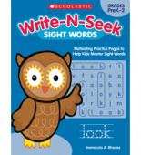 Write-N-Seek: Sight Words