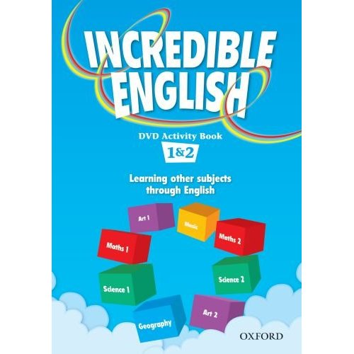 Incredible English 1 & 2 DVD Activity Book