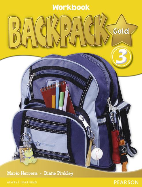 Backpack Gold Level 3 Workbook (with Audio CD)