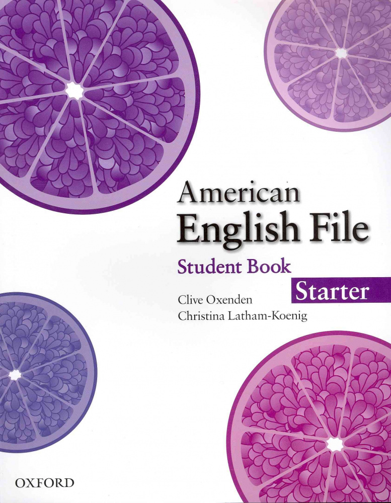 American English File Starter Student Book with Online Skills Practice