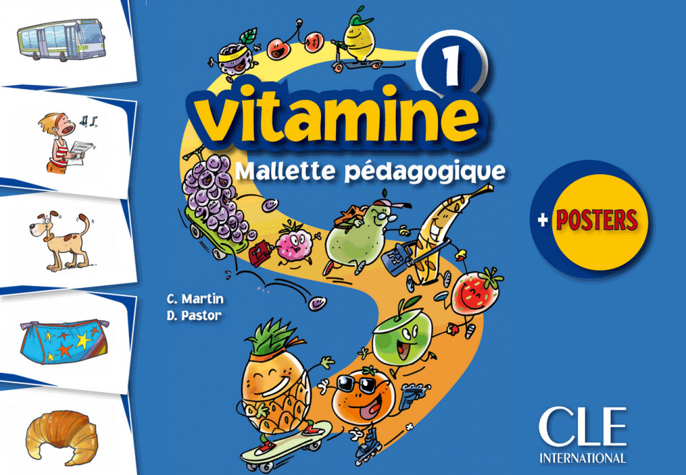 Vitamine 1 - Mallette pedagogique (4 posters + 225 flashcards)
