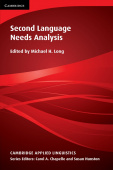 Cambridge Applied Linguistics: Second Language Needs Analysis