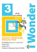 iWonder 3 Teacher's Multimedia Resource Pack PAL (set of 4)