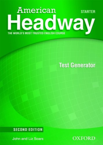 American Headway Second Edition Starter Test Generator CD-ROM