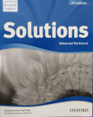 Solutions Second Edition Advanced Workbook with Student's Site