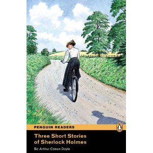 Three Short Stories of Sherlock Holmes (with MP3)
